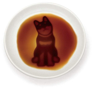 醤油皿 (小皿)  いぬ(座る)