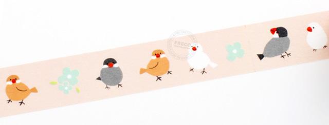 フロンティア ふわり マスキングテープ (ぶんちょう) FW47018