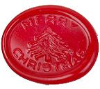 海外直輸入品 イタリア製 シーリングスタンプ メリークリスマス