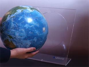 ラ・メール 海洋タイプ地球儀 No.2605(アクリル台)