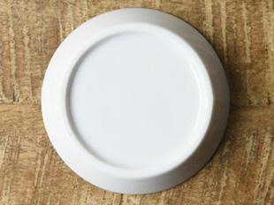 かげあそび 8.2cm白磁  しょう油皿 (美濃焼)